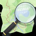 Карта с нашими работами