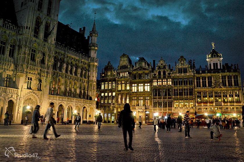 Главная площадь Брюсселя Гран Плас