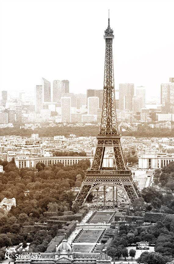 На крыше башни Монпарнас
