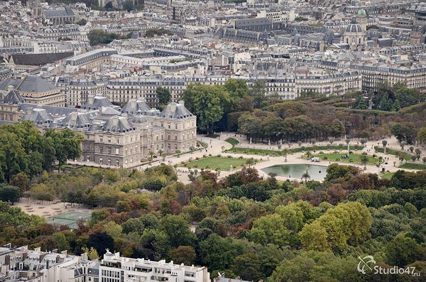 Париж с башни Монпарнас