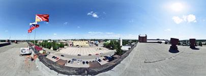 Крыша здания администрации БГО