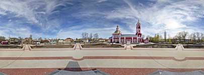 Старособорная площадь глазами Бориса и Глеба
