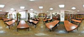 Библиотека им. В. Кина в Борисоглебске