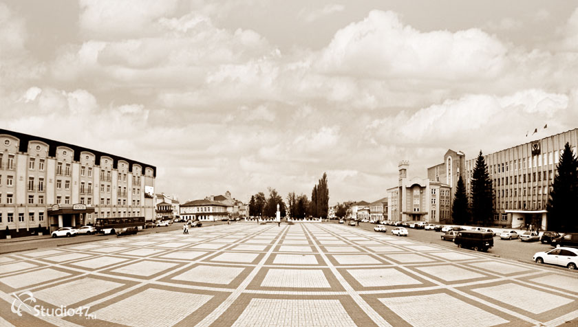 Площадь Ленина в Борисоглебске