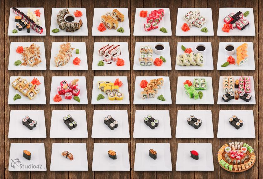 Японское меню кафе На Дровах в Борисоглебске