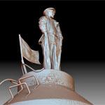 Памятник Николаю Рыбникову