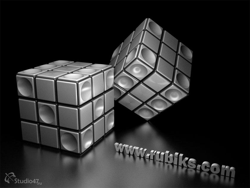 Игральные кости - кубик Рубика