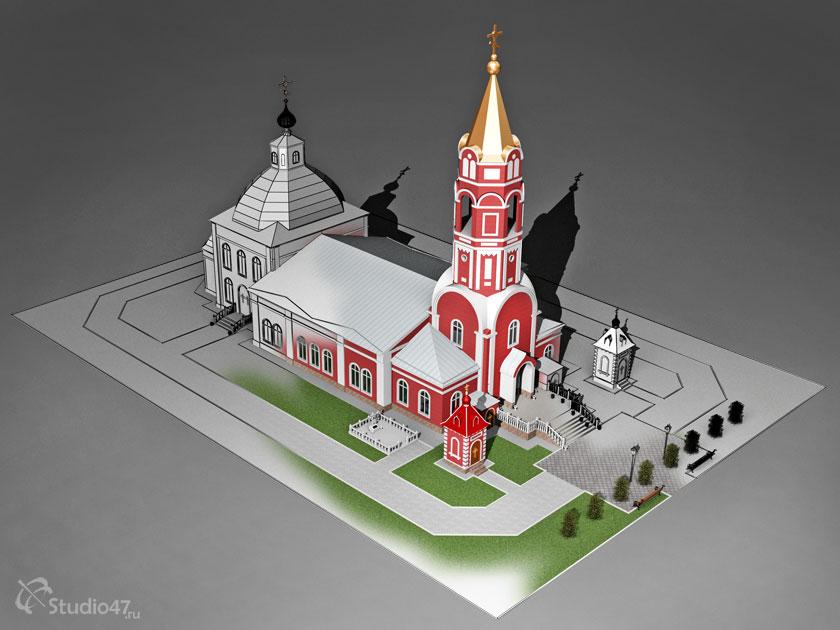 Церковь Бориса и Глеба в Борисоглебске