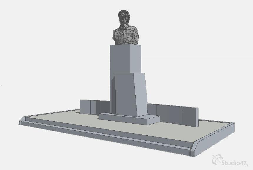 Памятник Неделину М.И.