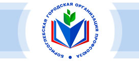 Эмблема профсоюза образования в Борисоглебске