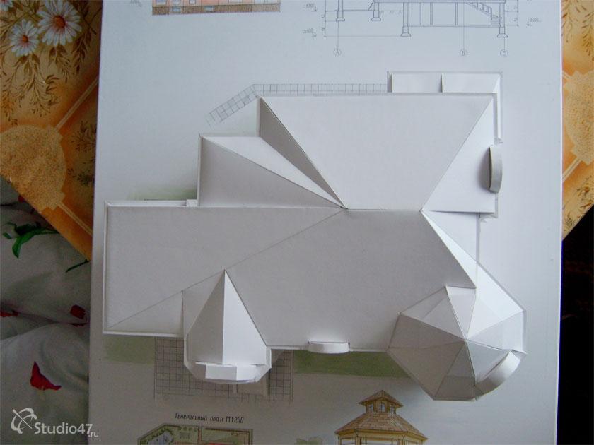 Как сделать крышу на дом из бумаги - Gallery-Oskol.ru