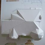 Крыша макета