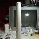 Фуст колонны с базой