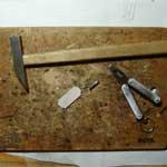 Срезание углов таблички