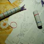 Склейка фуста колонны с энтазисом