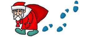 Граффити ВК - Дед Мороз уже близко