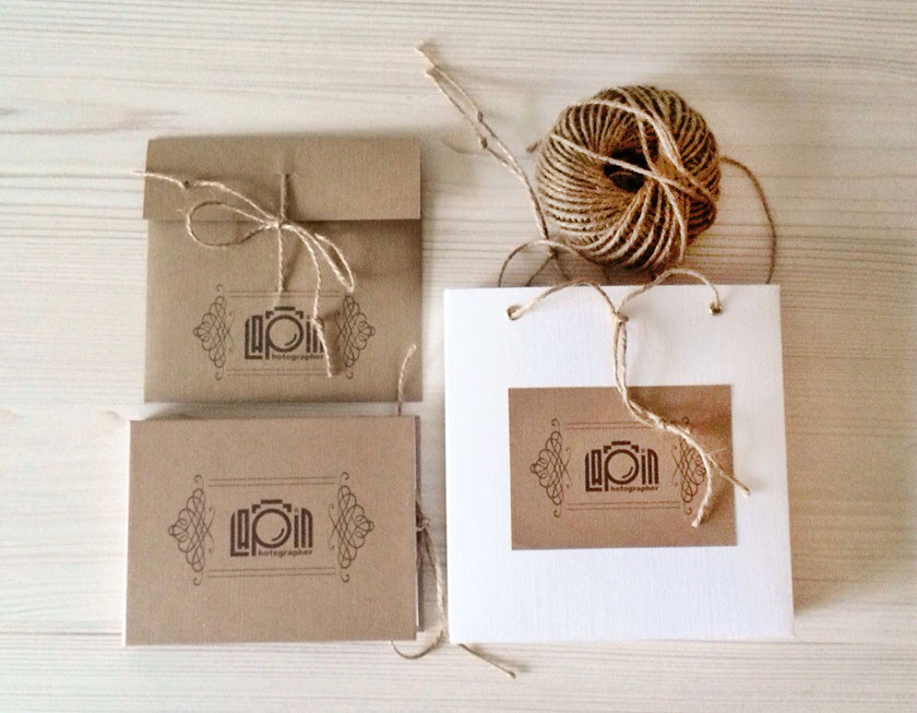 Логотип и фирменный стиль для фотографа